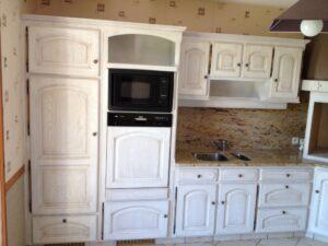 Rénovation d'une cuisine après